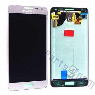 Samsung G850F Galaxy Alpha LCD Display Module, Silver, GH97-16386E