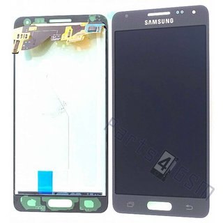 Samsung G850F Galaxy Alpha LCD Display Module, Black, GH97-16386A