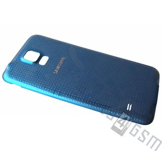 Samsung G900F Galaxy S5 Battery Cover, Blue, GH98-32016C