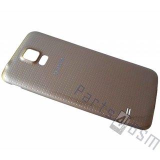 Samsung G900F Galaxy S5 Accudeksel, Goud, GH98-32016D