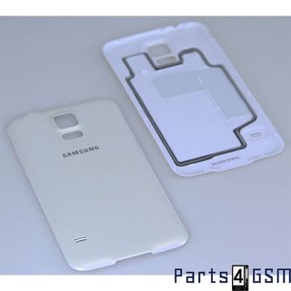 Samsung G900F Galaxy S5 Battery Cover, White, GH98-32016A