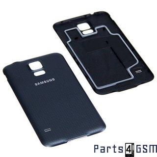 Samsung G900F Galaxy S5 Accudeksel, Zwart, GH98-32016B