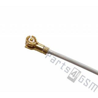 Samsung G900F Galaxy S5 Antenna Cable Coax / Coaxial Signal, White, GH39-01690A