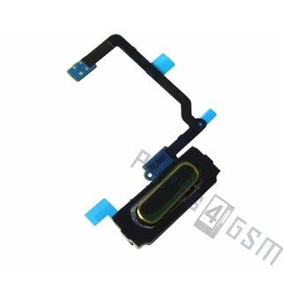Samsung G900F Galaxy S5 Home Button Flex, Goud, GH96-07065C