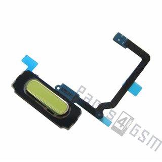 Samsung G900F Galaxy S5 Home Button Flex, Wit, GH96-07065A