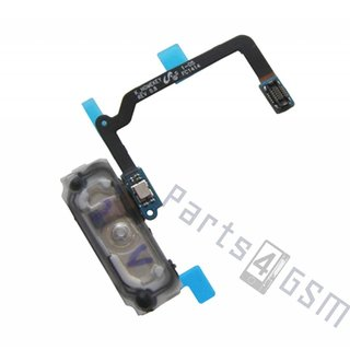 Samsung G900F Galaxy S5 Home Button Flex, Wit, GH96-07065A