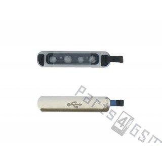Samsung G900F Galaxy S5 USB Cover, Gold, GH98-32941D
