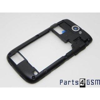 Samsung Galaxy W I8150 Middenbehuizing Zwart GH98-21119A