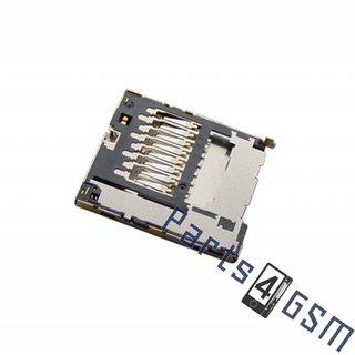 Samsung i8160 Galaxy Ace 2 MicroSD Card Reader Connector, 3709-001734