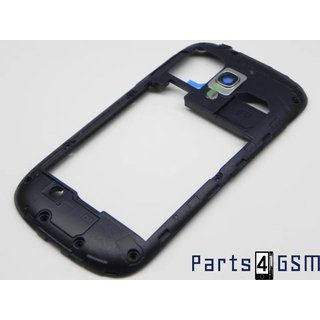 Galaxy S III Mini i8190 Middenbehuizing Zwart GH98-24991C