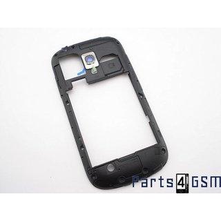 Samsung Galaxy S III Mini i8190 Middenbehuizing Blauw GH98-24991B