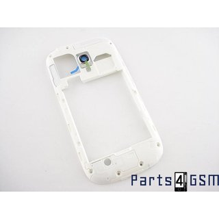 Samsung Galaxy S III Mini i8190 Middenbehuizing Wit GH98-24991A