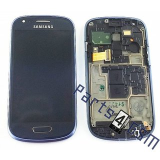 Samsung i8200 Galaxy S III Mini VE LCD Display Module, Blue,GH97-15508B