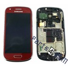 Samsung Lcd Display Module Samsung i8200 Galaxy S III Mini VE, Rood, GH97-15508F