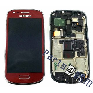 Samsung i8200 Galaxy S III Mini VE Lcd Display Module, Rood, GH97-15508F