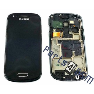 Samsung i8200 Galaxy S III Mini VE Lcd Display Module, Zwart,GH97-15508C