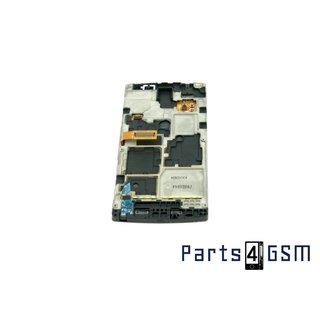 Samsung Omnia W i8350 Intern Beeldscherm + Touchpanel Glas, Buitenvenster Raampje + Frame GH97-12986A