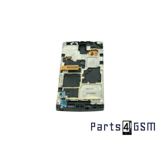 Samsung Omnia W i8350 Internal Screen + Digitizer Touch Panel Outer Glass + Frame GH97-12986A