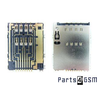 Samsung Galaxy Beam i8530 Simkaartlezer Connector 3709-001625