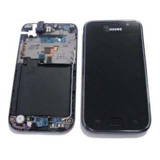 Samsung Galaxy S i9000 Lcd Display + Touchscreen Zwart Chrome GH97-11186A