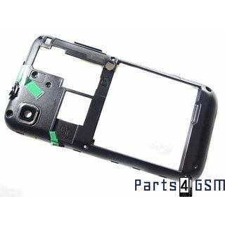 Samsung Galaxy S i9000 Middenbehuizing Zwart GH98-16686A4/6