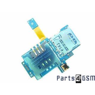 Samsung Galaxy S i9000 Simkaart + MicroSD connector Flex Kabel GH59-09495A