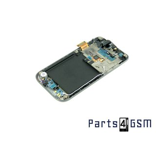 Samsung Galaxy S Plus GT-I9001 LCD + Digitizer Touch Panel Outer Glass + Frame Black GH97-12371A