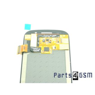 Samsung Google Nexus S i9020 S Intern Beeldscherm + Touchpanel Glas, Buitenvenster Raampje Zwart