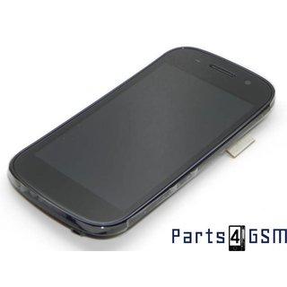 Samsung I9020 Nexus S LCD Display + Touchscreen + Frame Zwart GH97-11714A