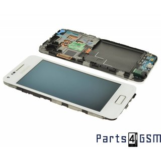 Samsung Galaxy S Advance i9070 LCD Display + Touchscreen + Frame White GH97-13277B