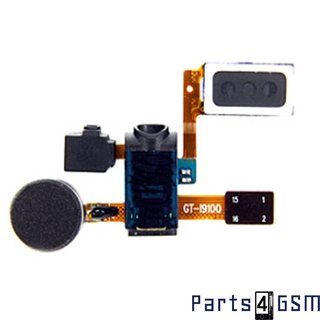 Samsung Galaxy S II i9100 Hoorspeaker Vibramotor Microfoon DC jack Flex SWAP GH59-10935A