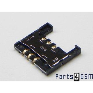 Samsung Galaxy S2 i9100 Simkaartlezer Connector 3709-001626