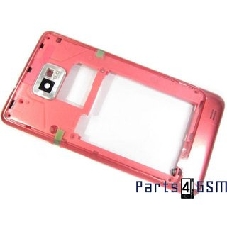 Samsung I9100 Galaxy S II Achterbehuizing Roze GH98-19594C