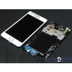Samsung Galaxy S II i9100G Internal Screen + Digitizer Touch Panel Outer Glass + Frame White GH97-12354B
