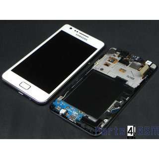 Samsung Galaxy S2 i9100G LCD + Touchscreen + Frame Wit GH97-12354B