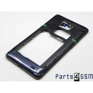 Samsung Galaxy S II Plus I9105 Middenbehuizing Zwart GH98-25681A