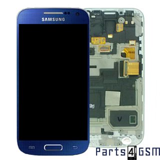 Samsung i9195 Galaxy S4 Mini LCD Display Module, Blue, GH97-14766C