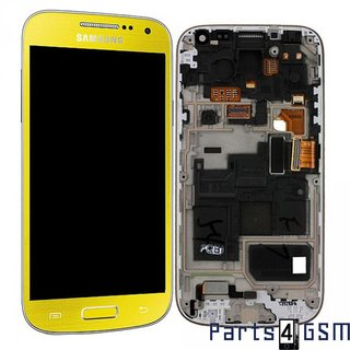 Samsung i9195 Galaxy S4 Mini LCD Display Module, Yellow, GH97-14766J