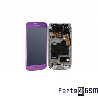 Samsung i9195 Galaxy S4 Mini Lcd Display Module, Paars, GH97-14766E