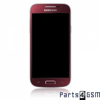 Samsung i9195 Galaxy S4 Mini LCD Display Module, Red, GH97-14766F