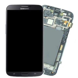 Samsung Galaxy Mega 6.5 i9200 / i9205 Lcd Display + Touchscreen + Frame Zwart GH97-14751A