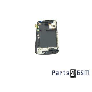 Samsung Galaxy Nexus i9250 Intern Beeldscherm + Touchpanel Glas, Buitenvenster Raampje + frame Zwart GH97-13076A