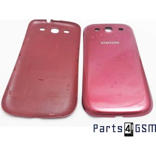 Samsung Galaxy S III i9300 Battery Cover GH98-25943C La Fleur Red