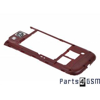 Samsung Galaxy S III i9300 Middenbehuizing GH98-23341C Rood