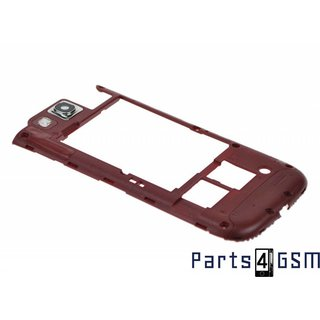 Samsung Galaxy S III i9300 Middle Cover GH98-23341C Red