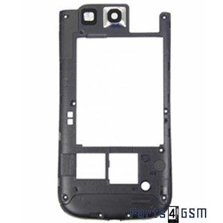 Samsung Galaxy S3 i9300 Middenbehuizing GH98-23341A Blauw