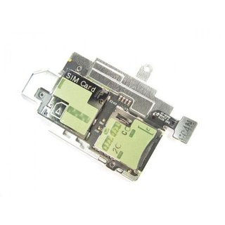 Samsung Galaxy S3 i9300 Simkaart + MicroSD connector Flex Kabel GH96-05609A