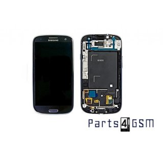 Samsung Galaxy S3 / S III i9300 LCD Display + Touchscreen + Frame Blue GH97-13630A