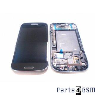Samsung Galaxy S3 / S III i9300 LCD Display + Touchscreen + Frame Grey GH97-13630F