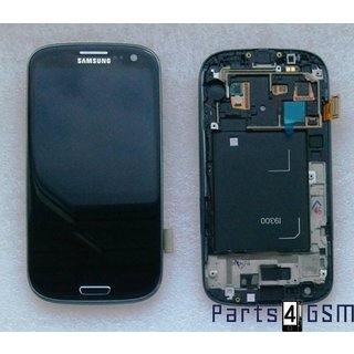 Samsung i9300 Galaxy S3 / S III Lcd Display Module, Zwart, GH97-13630E
